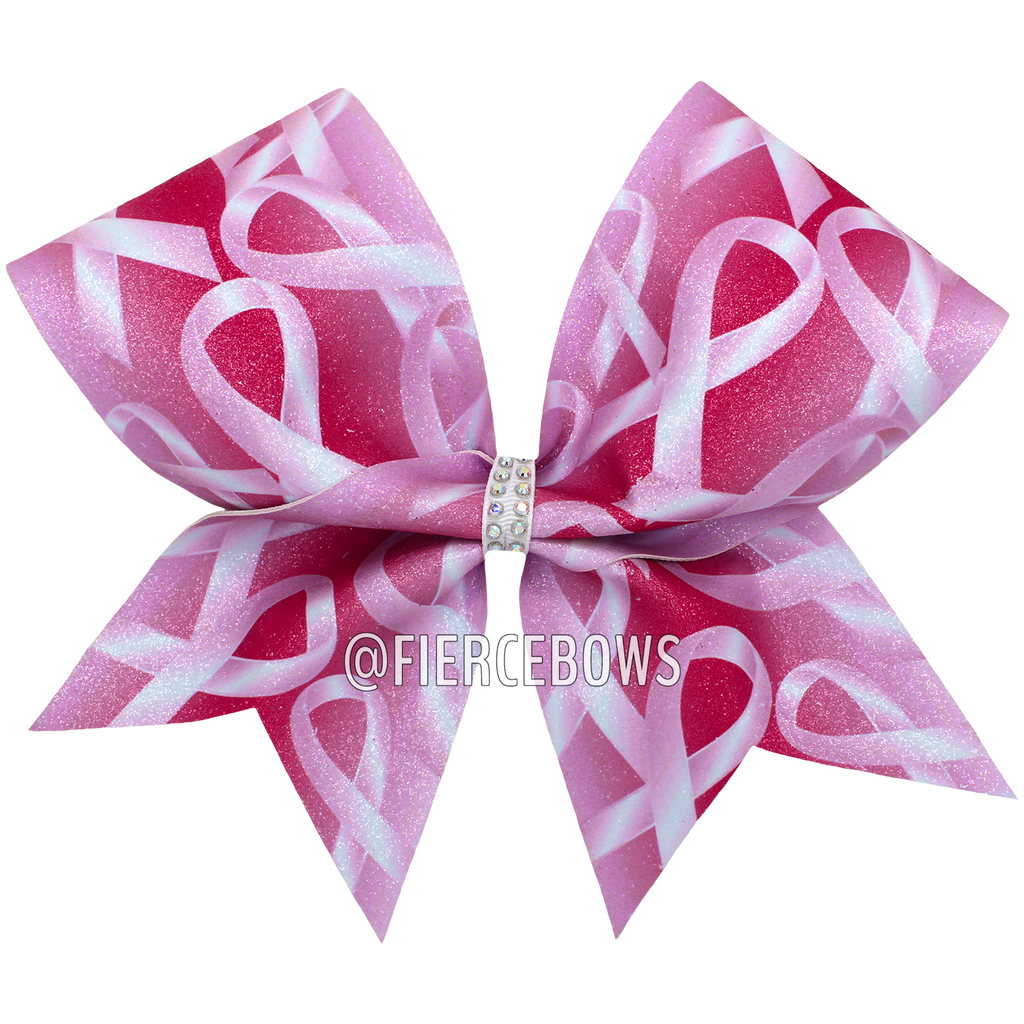 Lean On Me Breast Cancer Awareness Bow