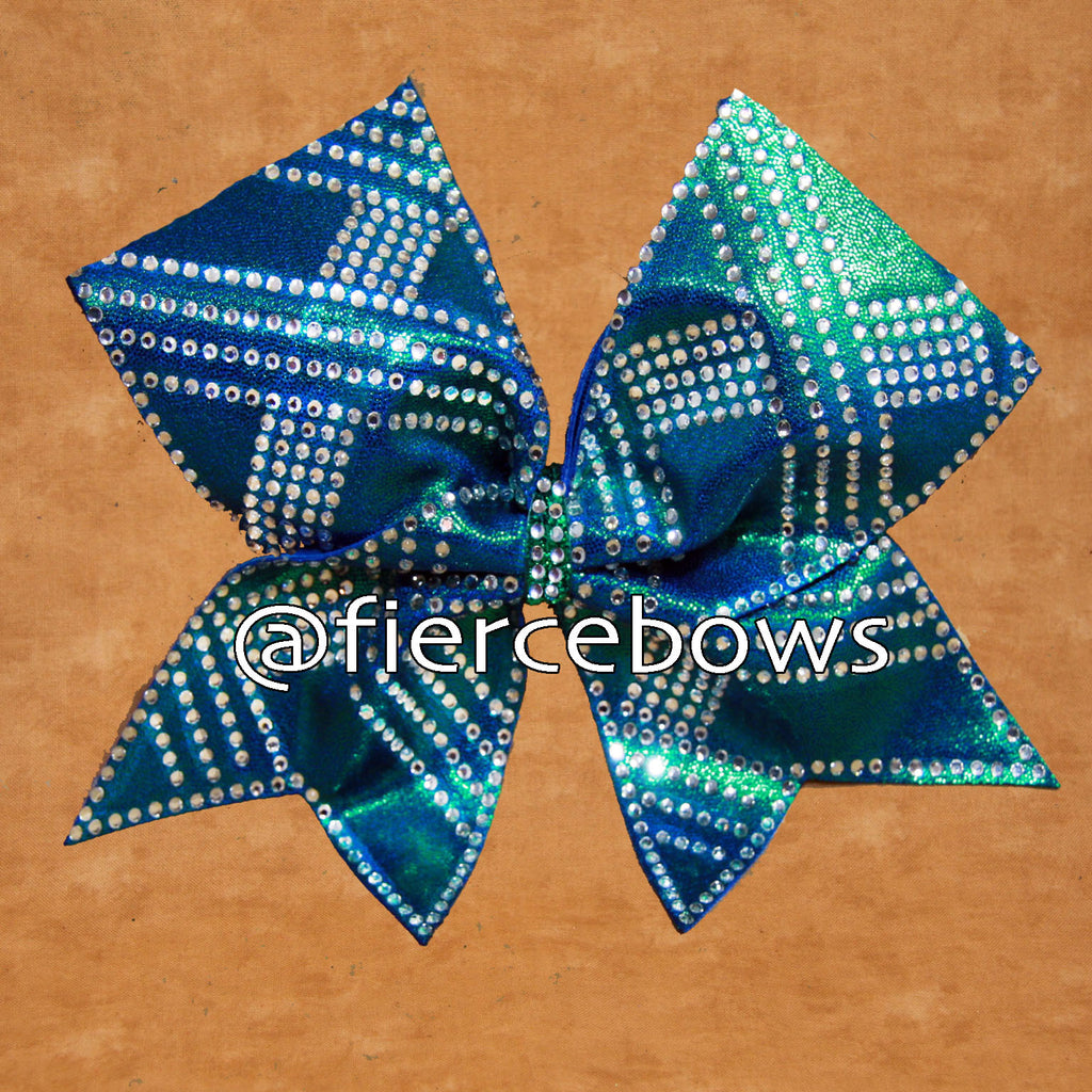 Like A Mermaid Rhinestone Bow
