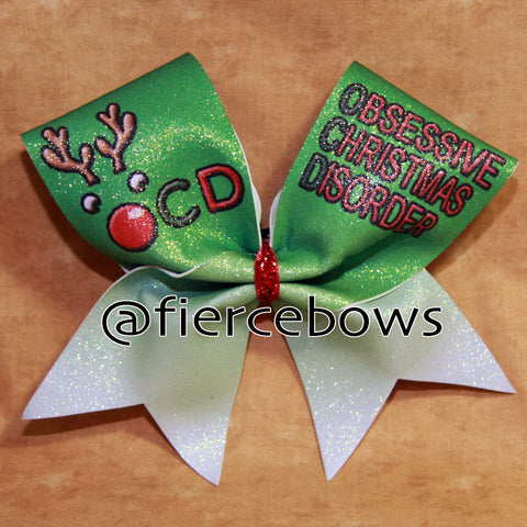 Obsessive Christmas Disorder Bow