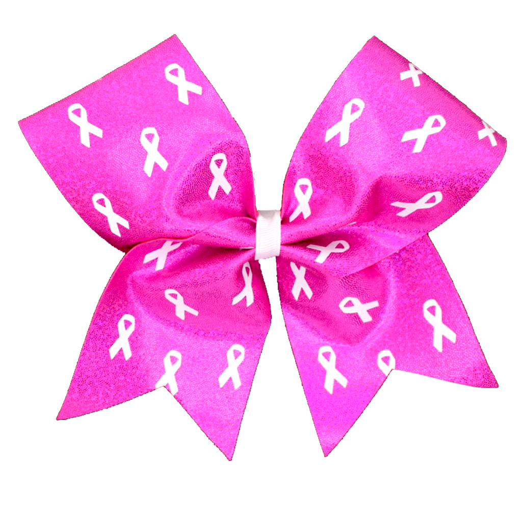 Ribbons of Hope Cancer Awareness Bow