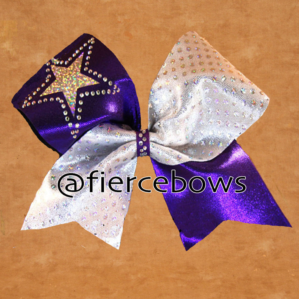 Shining Star Rhinestone Bow