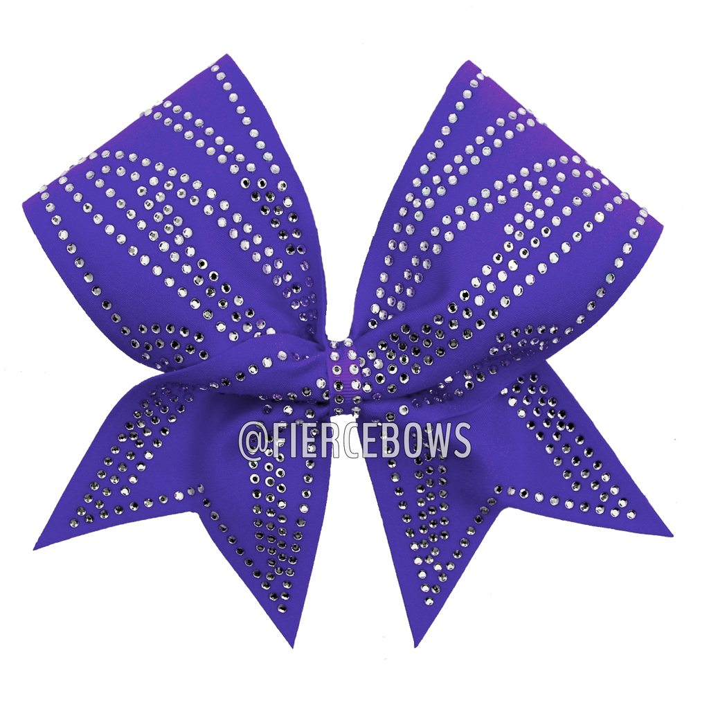Abstract Rhinestone Bow