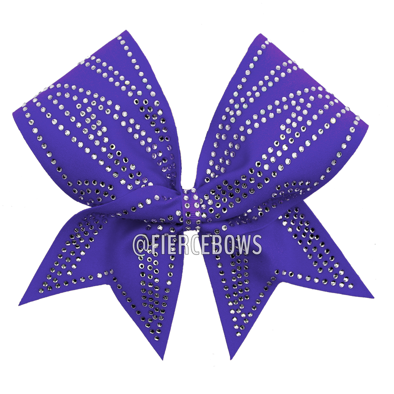 Mandy Rhinestone Cheer Bow