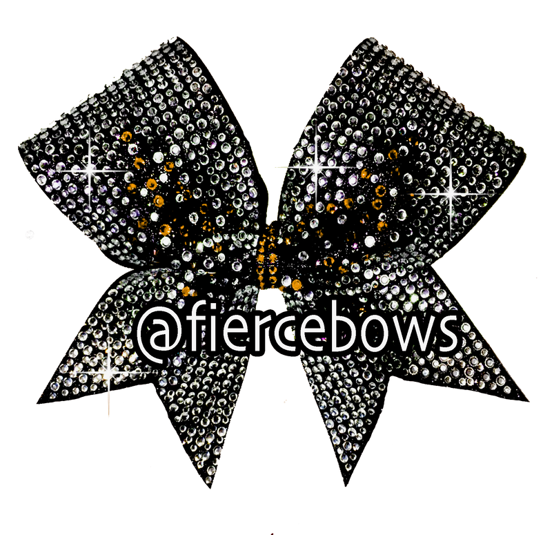 Bling A Ding Rhinestone and Glitter Bow