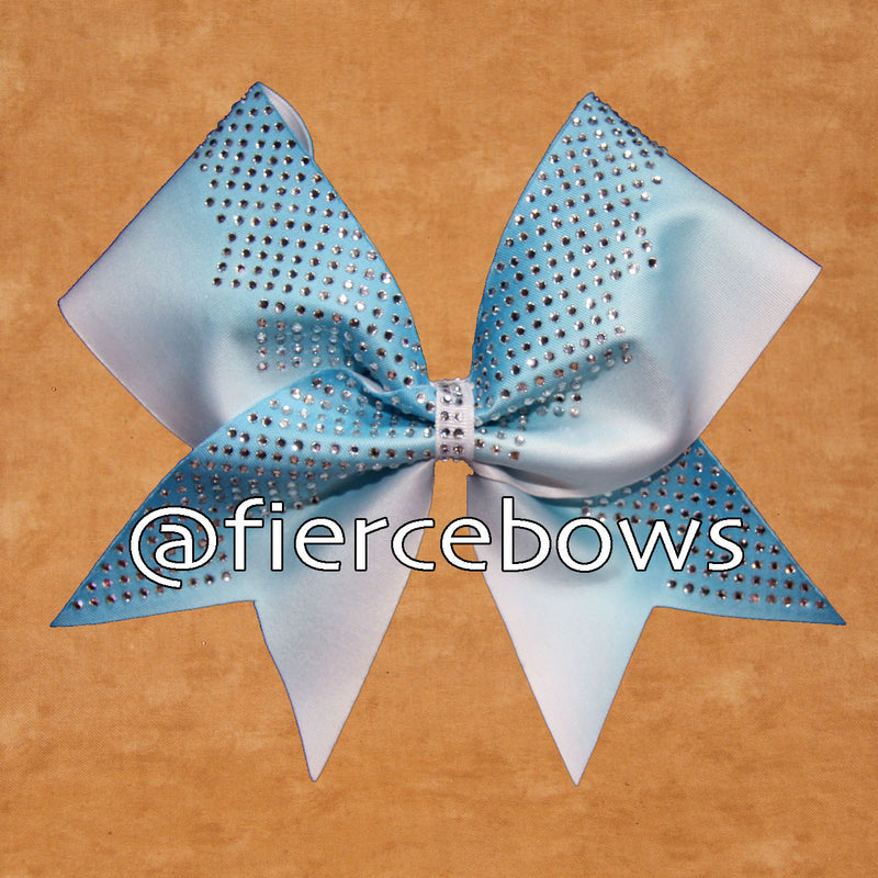 Stone Mountain on Blue Ombre