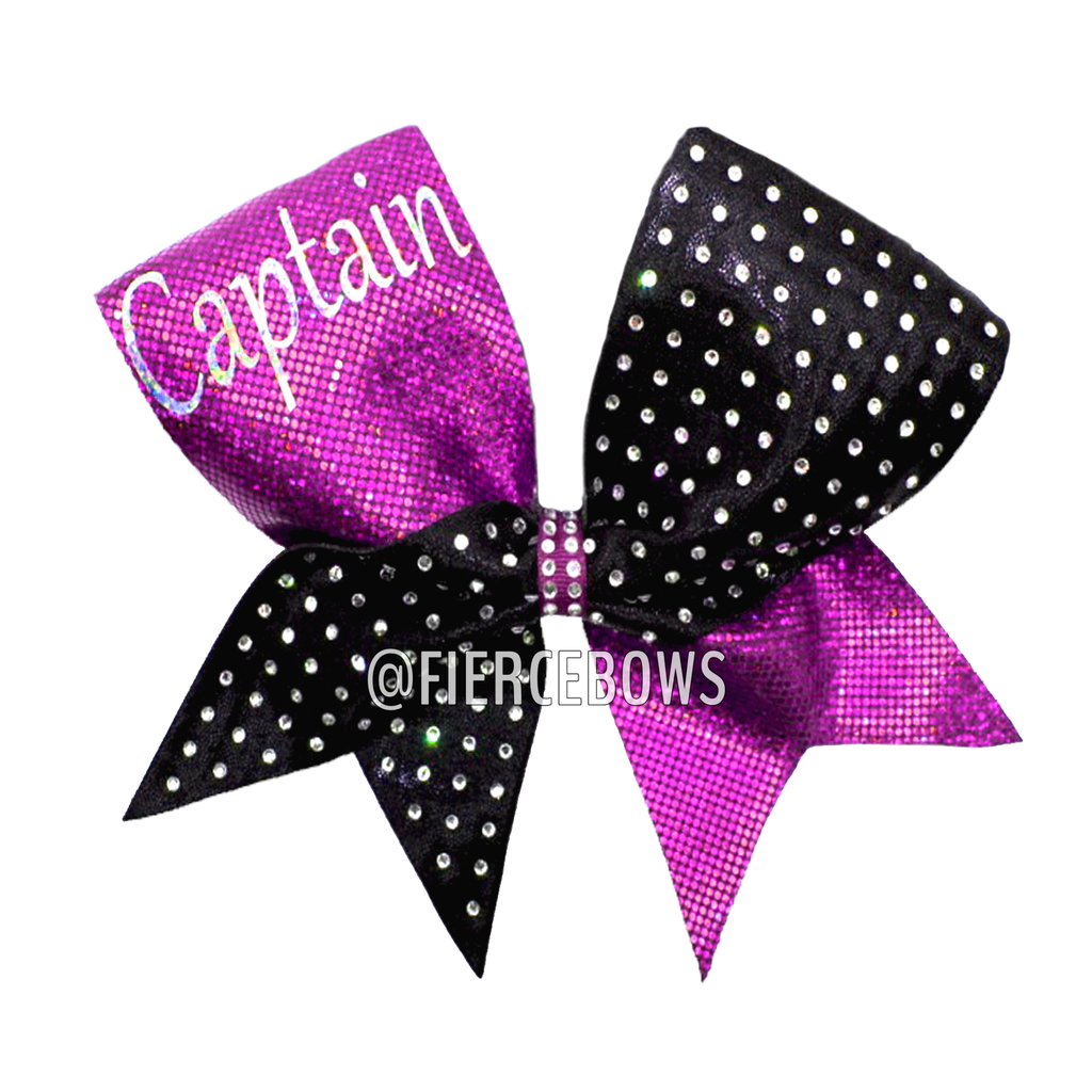 Captain Rhinestone Bow