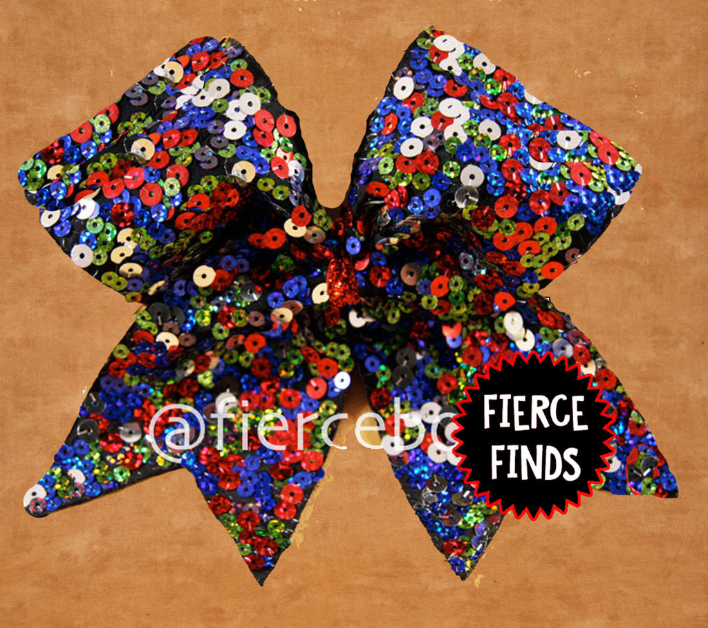 Carnival Sequin Bow