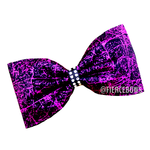 Fancy Pants Two Color Rhinestone Tailless Bow