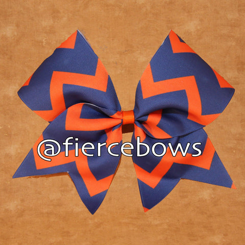 Chevron Cheer - Choose Your Colors