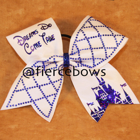 Dreams Do Come True® With Rhinestones Bow