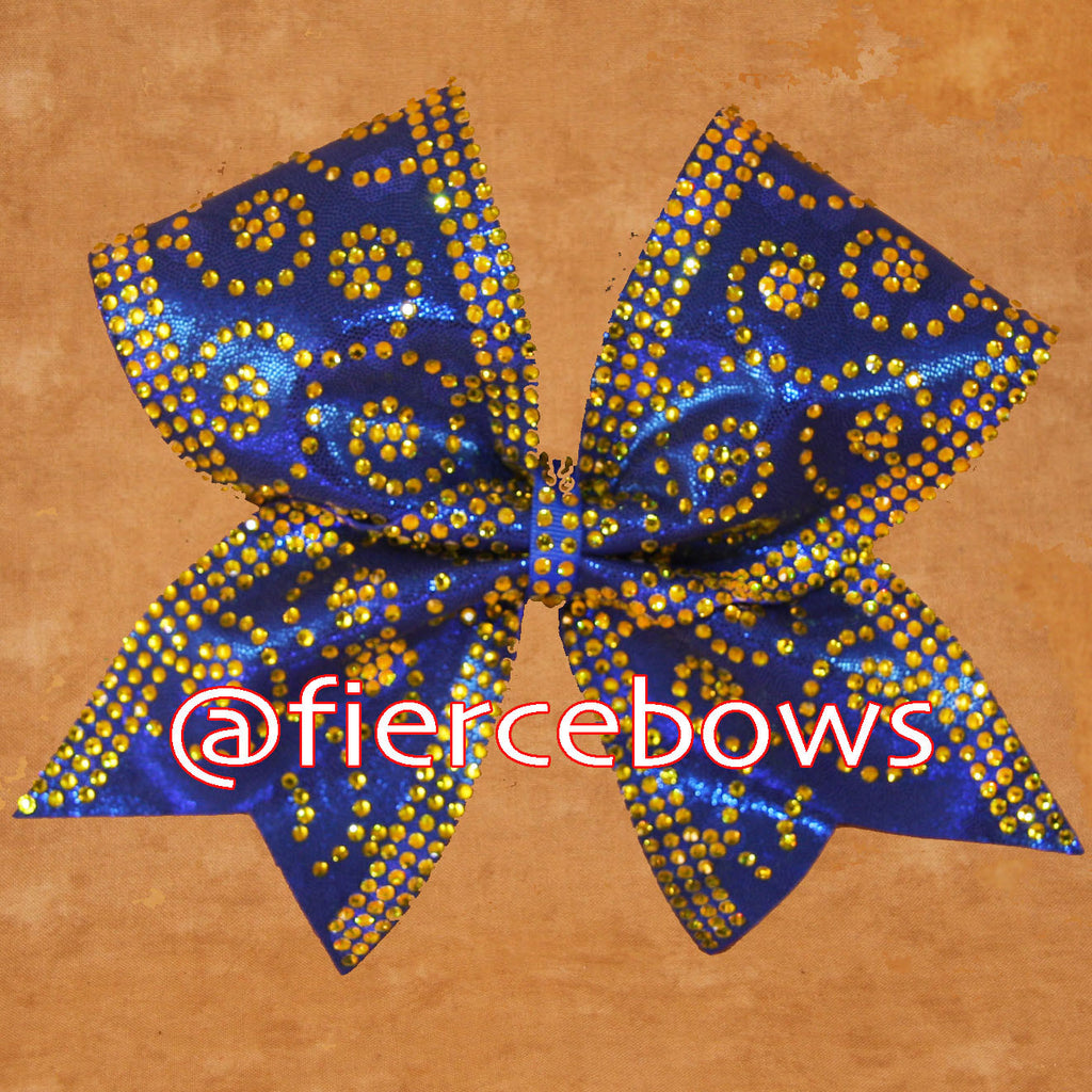 Double Dutch Rhinestone Bow