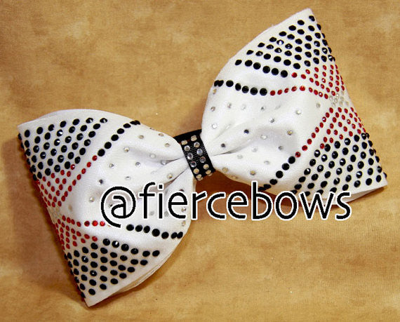 Generally Blinged Rhinestone Bow