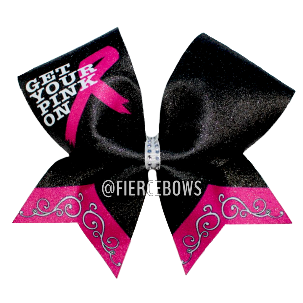 Get Your Pink On Awareness Bow