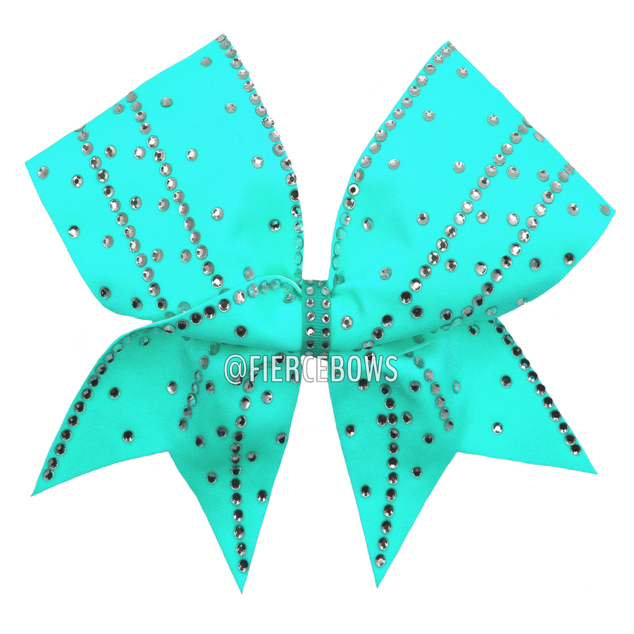 b0b6ca13cfd0e Girly Girl Rhinestone Bow – Fierce Bows