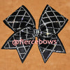 Goin' Round in Circles Rhinestone Cheer Bow