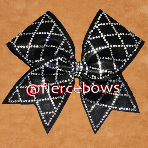 Blue Danube Tailless Rhinestones Bow