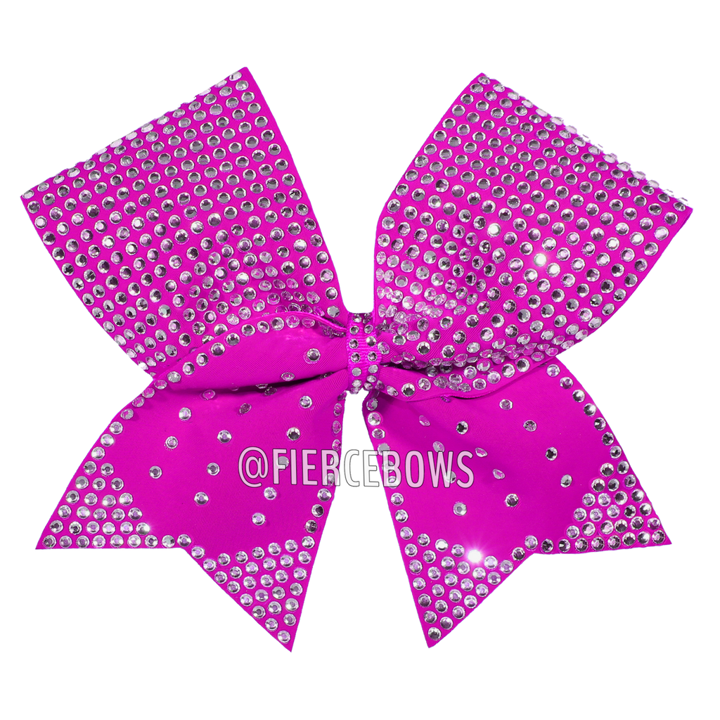 Hang on to my Tails Rhinestone Bow