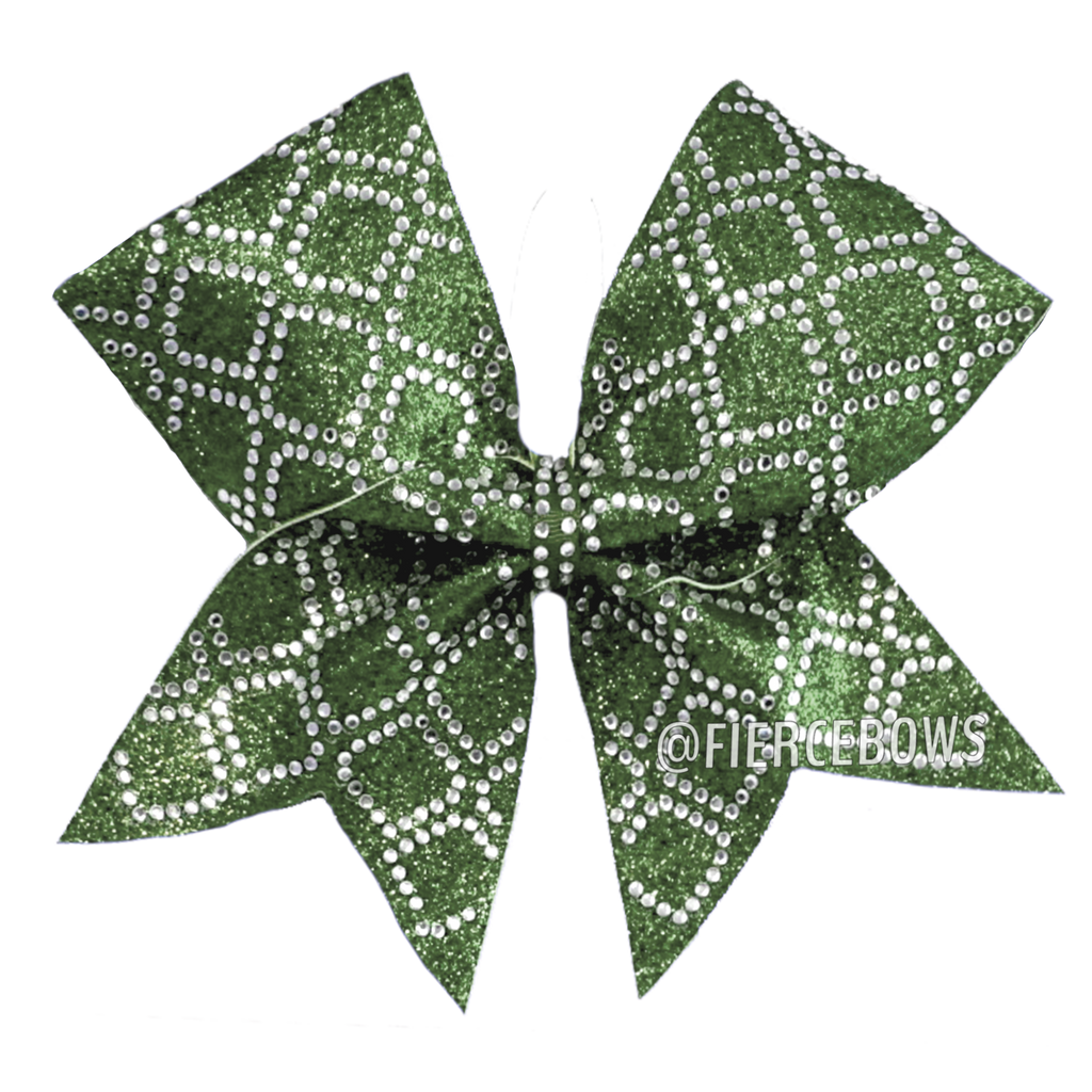 Her Majesty Rhinestone Bow