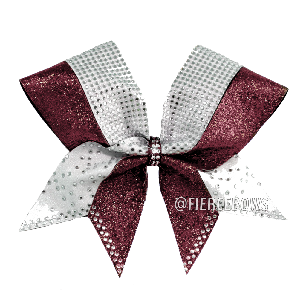 Hit The Town Glitter and Rhinestone Bow