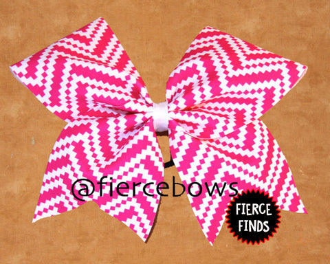 Hot Pink Aztec Chevron