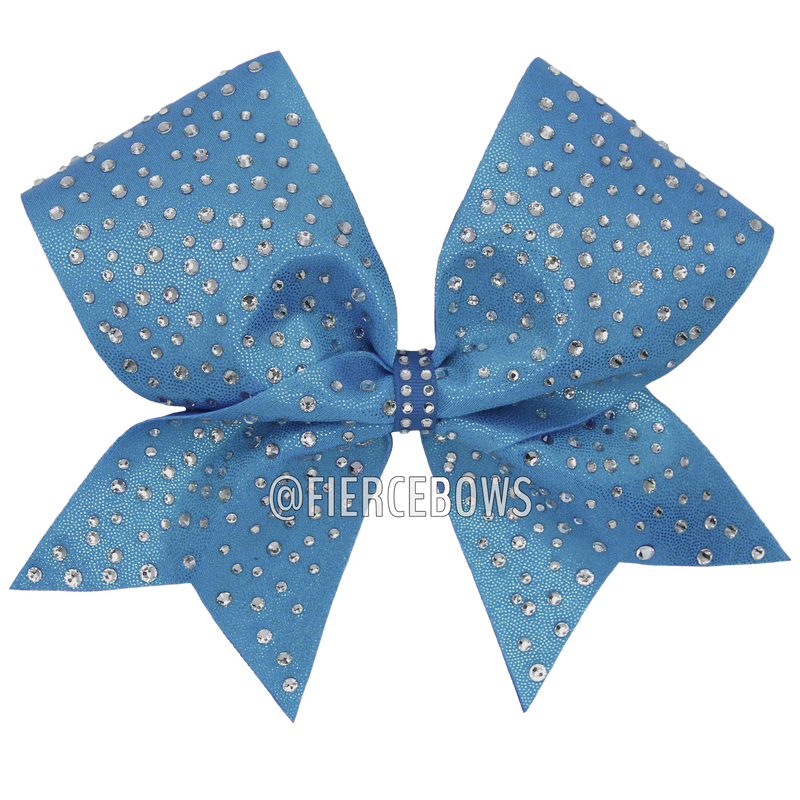 Ice Princess Rhinestone Bow