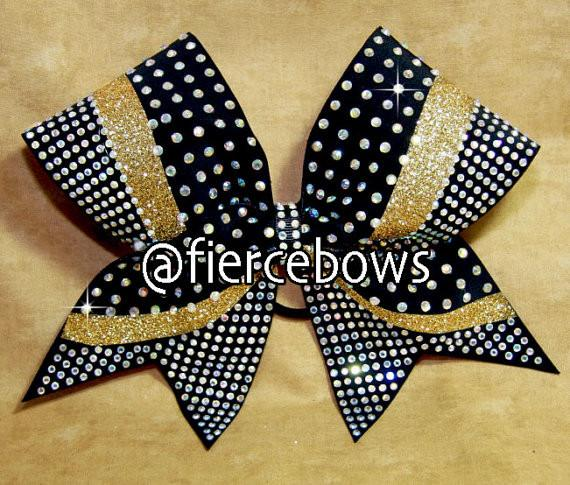 OMGorgeous Glitter and Rhinestone Bow
