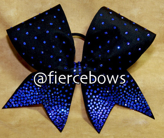 Ice Princess Rhinestones in Black and Blue