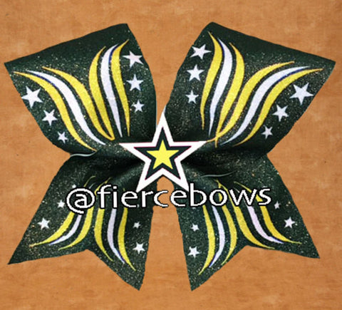 Frenzy 3D Center Bow - Pick Your Colors