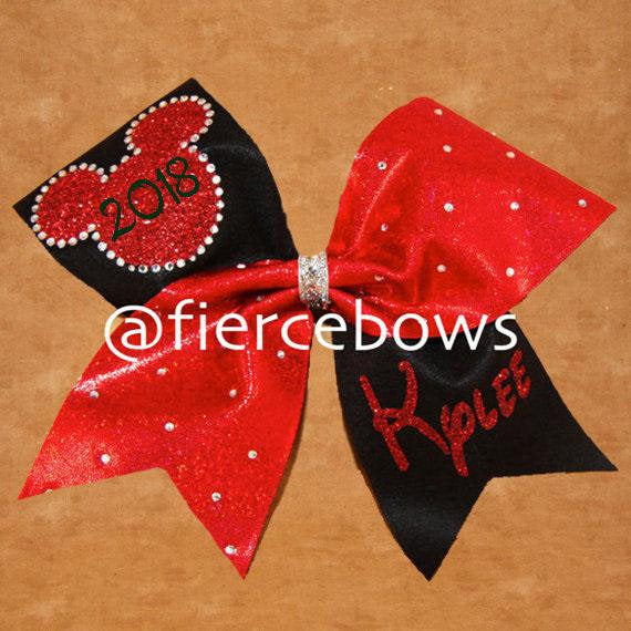 Love Me Some Mouse Rhinestone Bow