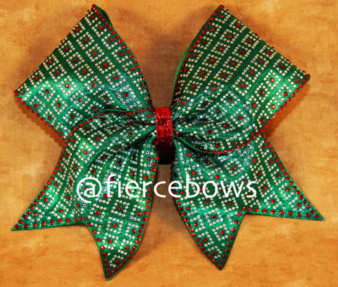 The Christmas Present Cheer Bow