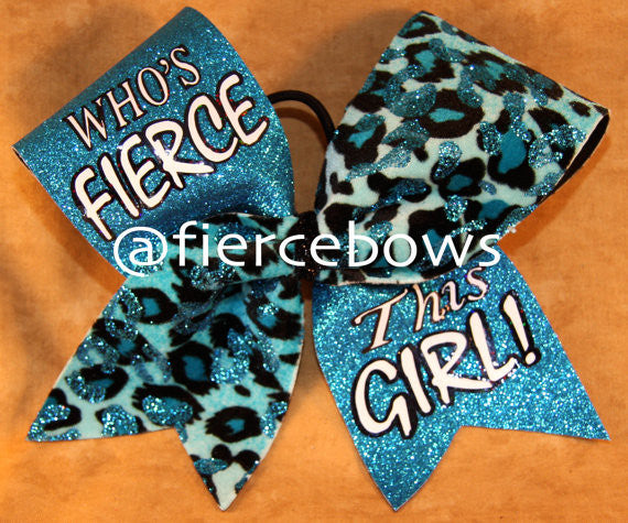 Who's Fierce? This Girl! Bow