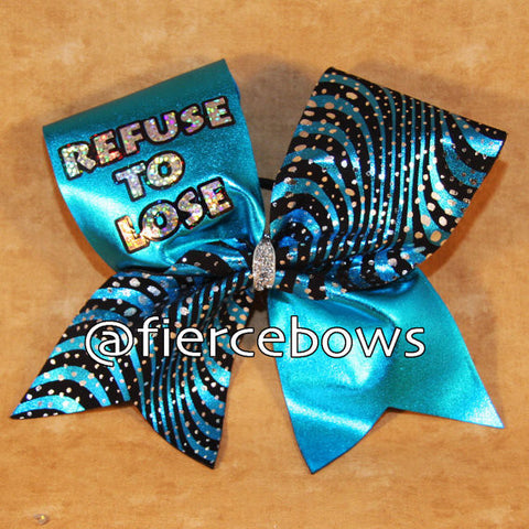 REFUSE TO LOSE Bow