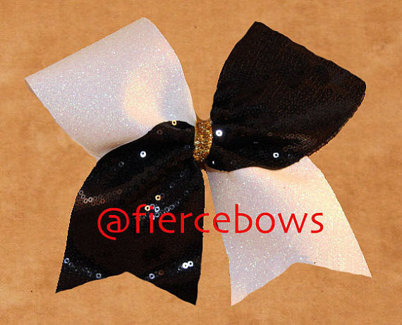 Simply Elegant Glitter and Sequin Bow