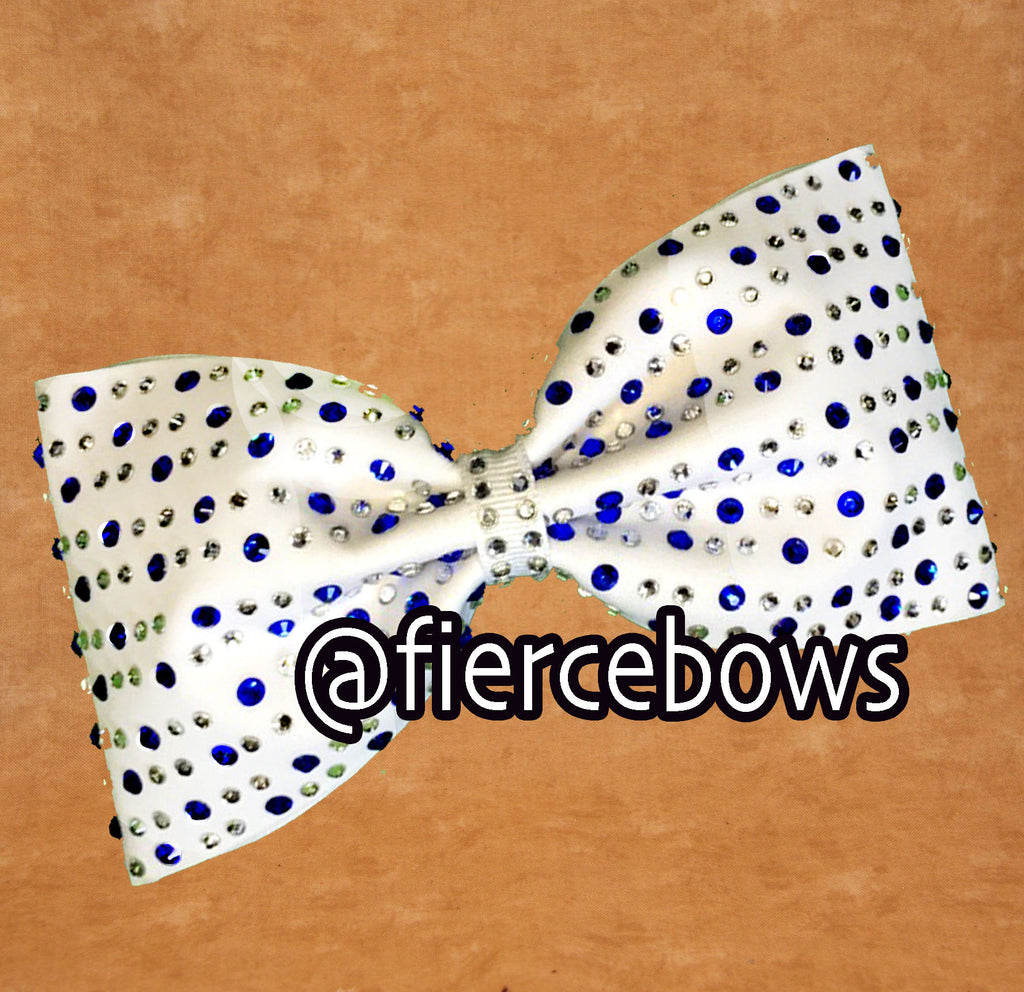Perfect Pair Tailless Rhinestone Bow