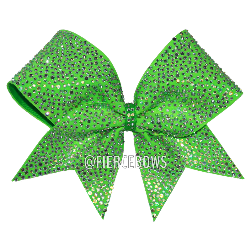 Royalty Rhinestone Cheer Bow