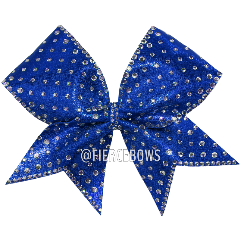 Time To Dance Rhinestone Bow