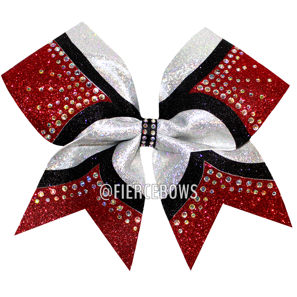 Brandy Rhinestone and Glitter Bow