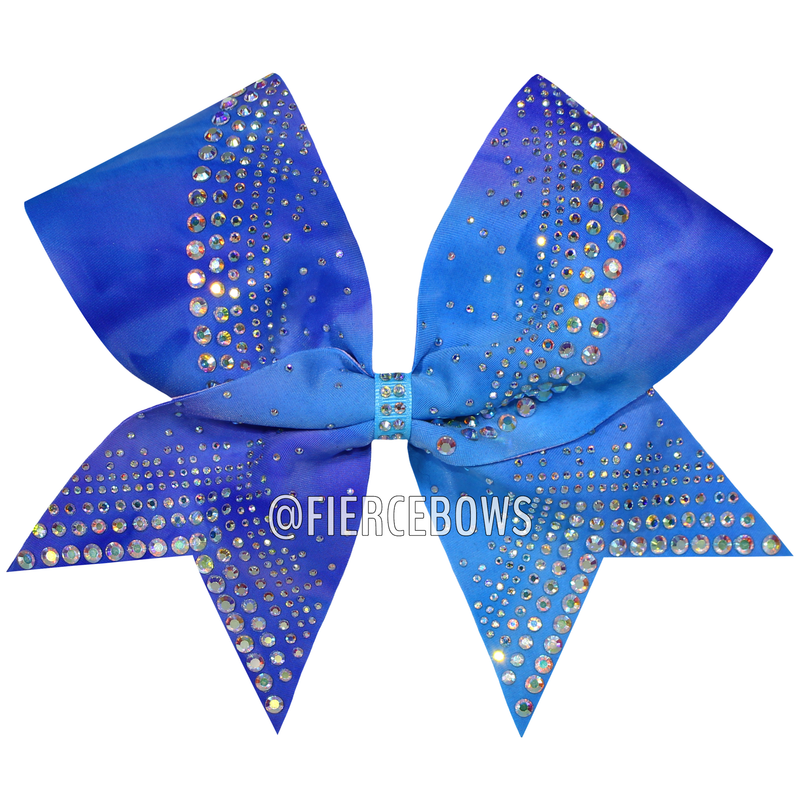 Fly Angel Rhinestone Bow