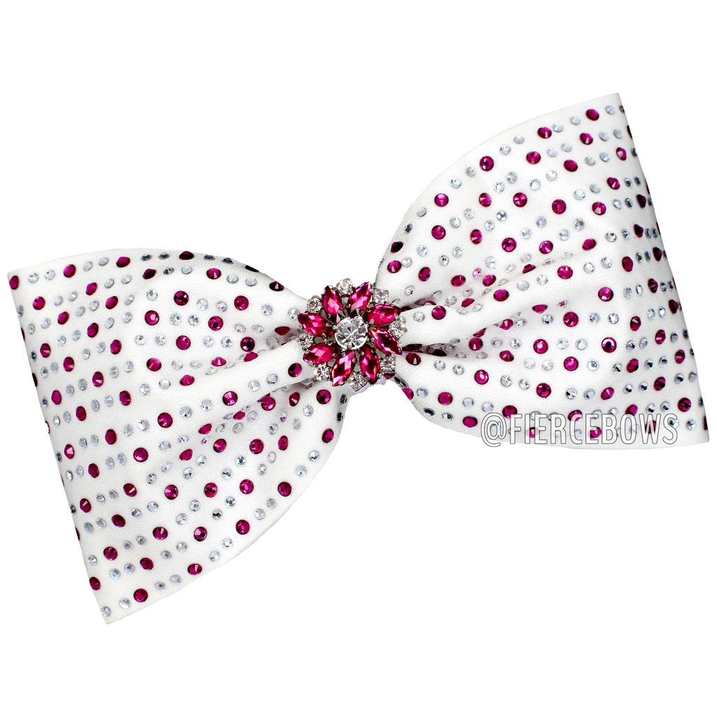 Winner's Circle Rhinestone Tailless Bow