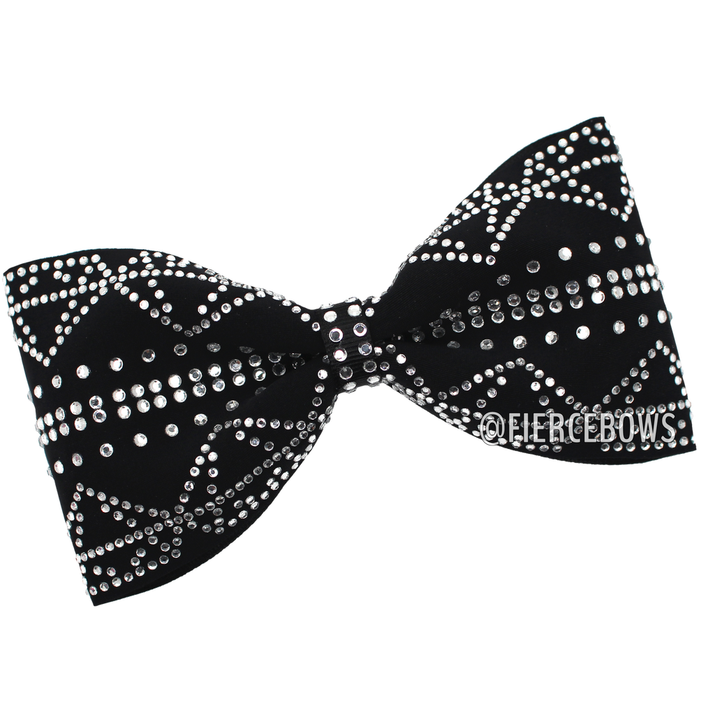 Diamonds Are A Girl's Best Friend Tailless Bow