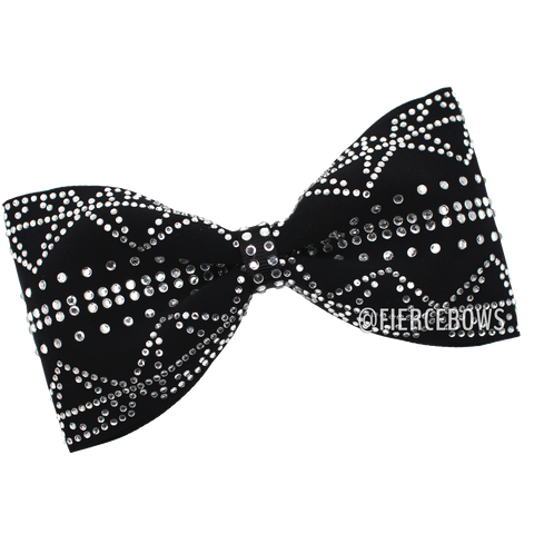 Moon Dance Rhinestone Tailless Bow