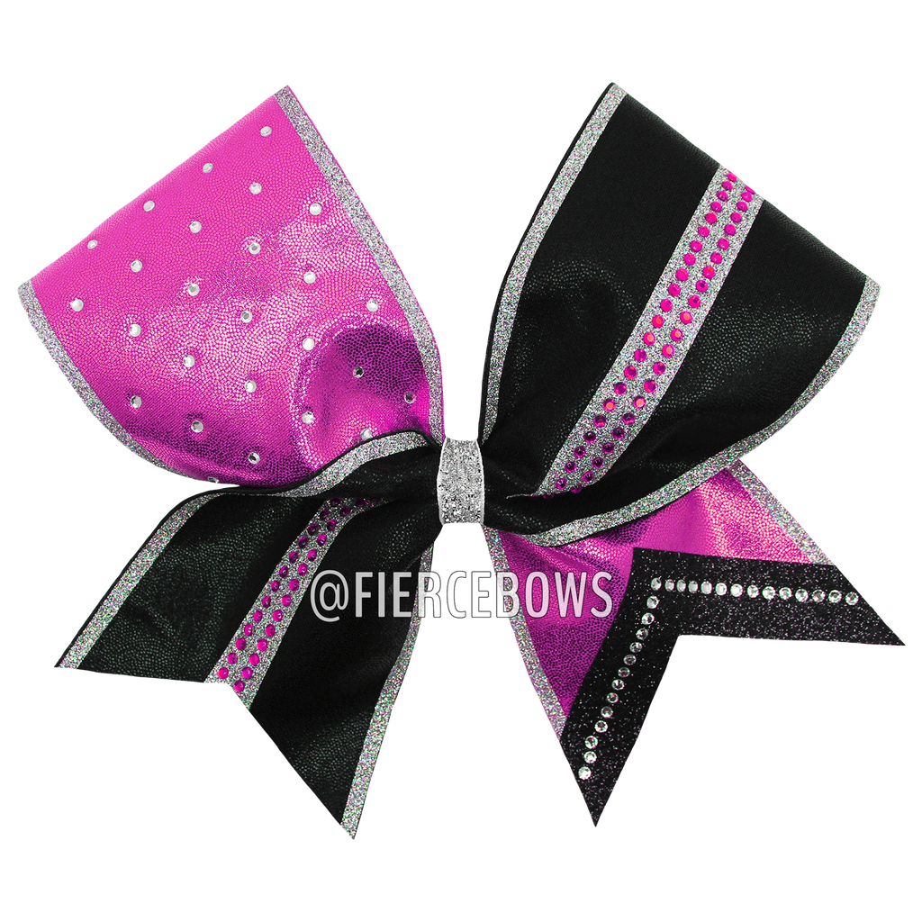 All or Nothing Rhinestone Bow