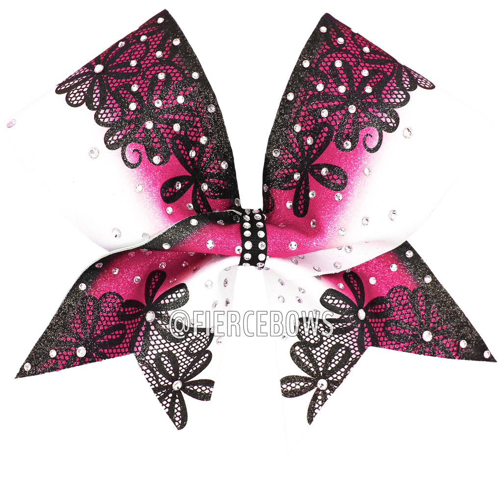 Casual Love Rhinestone Bow