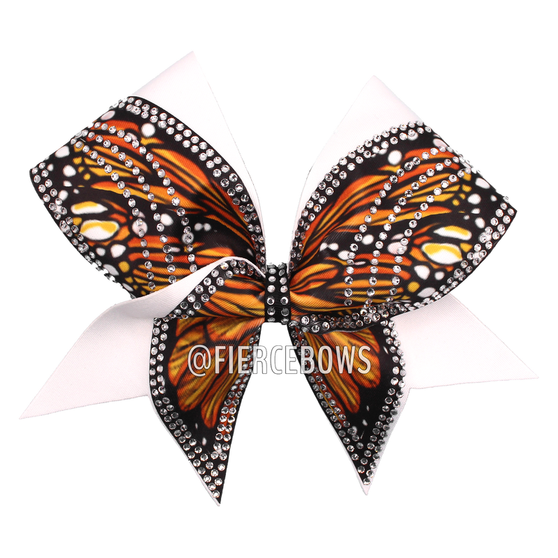 Monarch Butterfly Bow