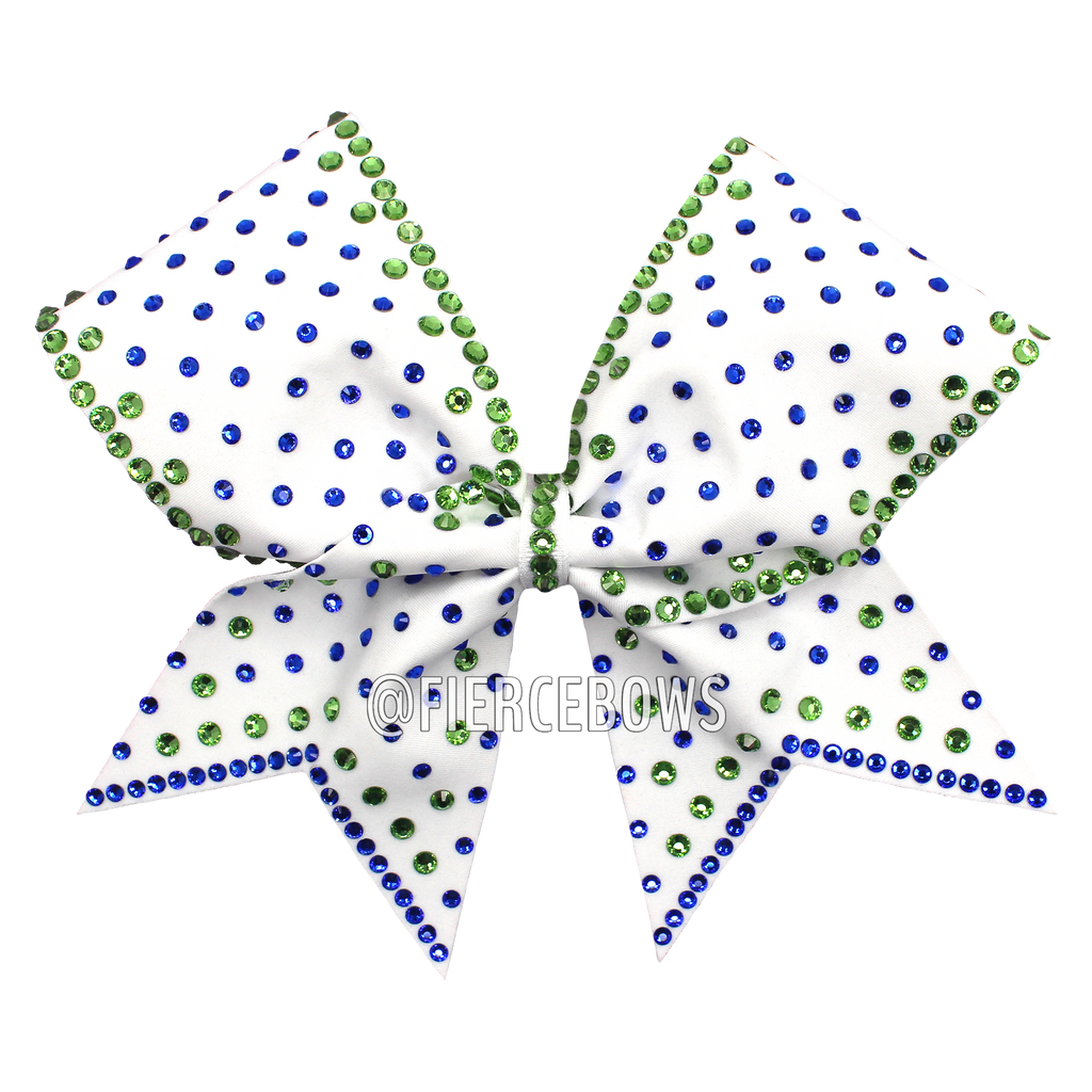 Color Pop Two Color Rhinestone Bow