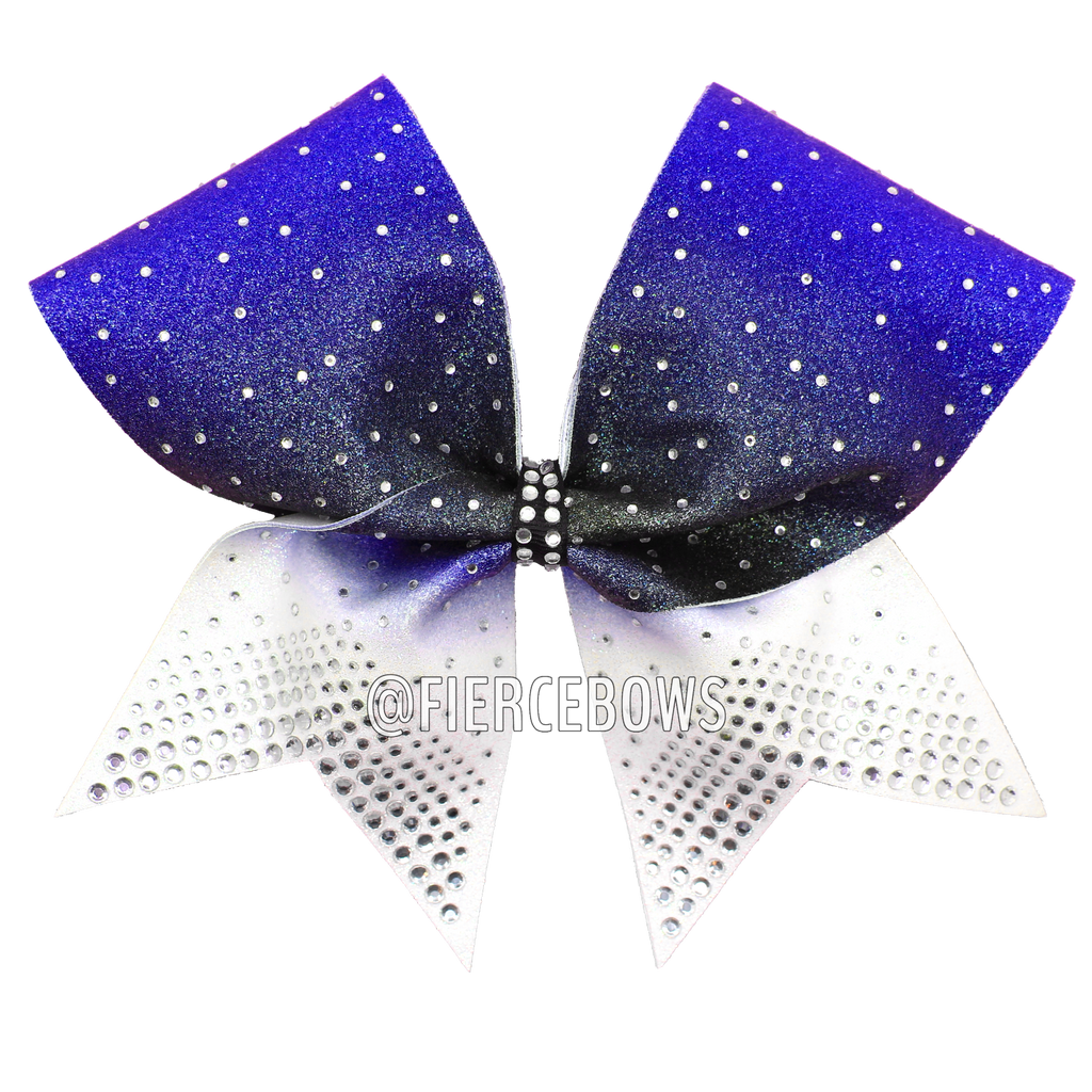Made It To The Top Ombre Rhinestone Bow.