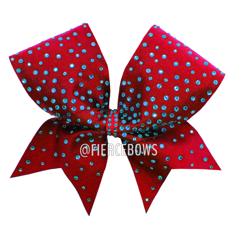 Glow For Me Rhinestone Bow