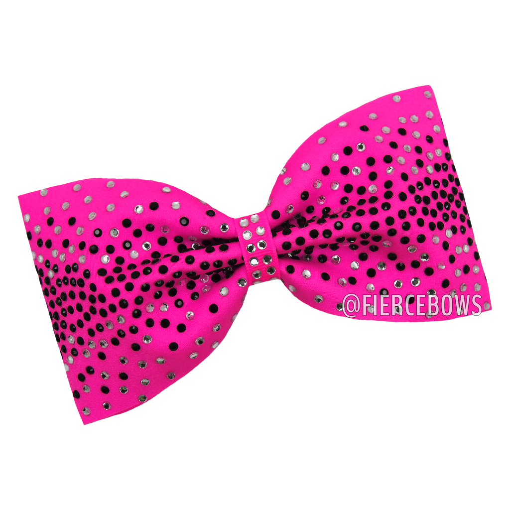 All Together Now Rhinestone Tailless Bow