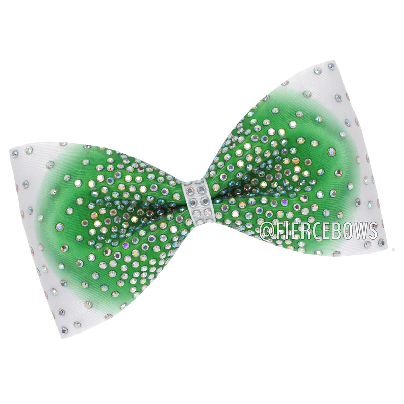 Charming as Ever Ombre Rhinestone Bow