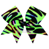 Neons Swirling Cheer Bow